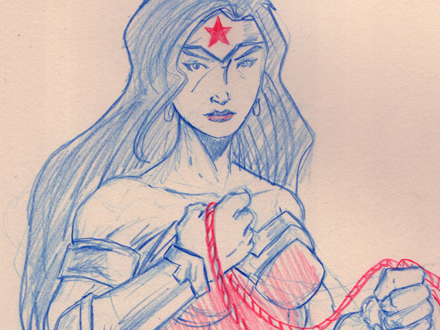 #sketchember'17 – #12 Wonder Woman