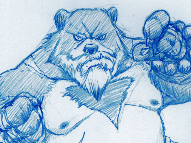 #sketchember'17 – #13 bearmonk