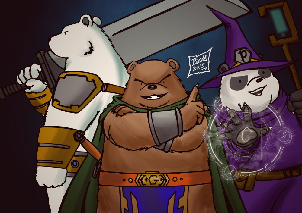 we-bare-bear-fantasy_by_marco_bym