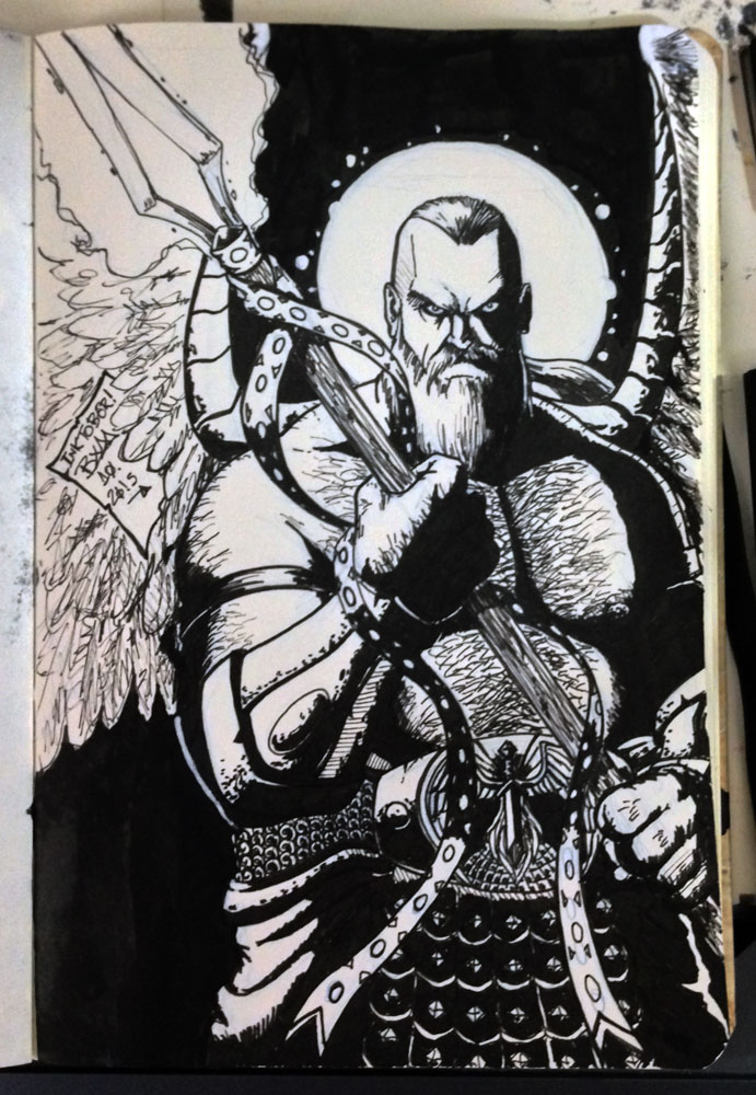 arcanjo_inktober_by_marco_bym